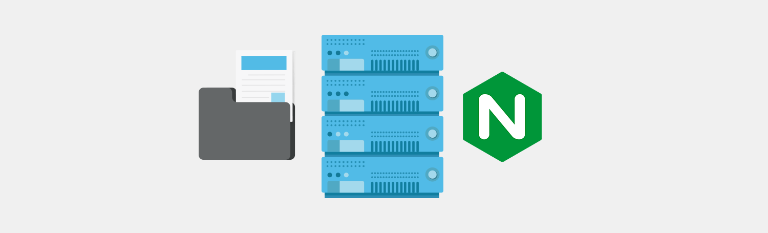 nginx hosting - serving content and files