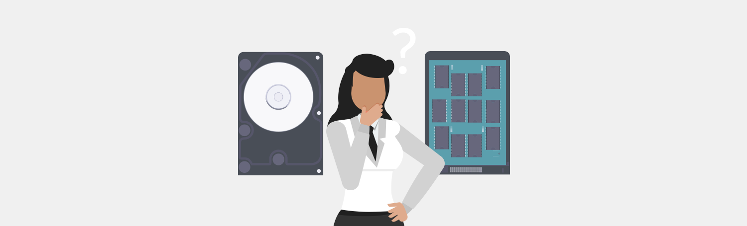 How to decide between HDD and SDD hosting - Plesk