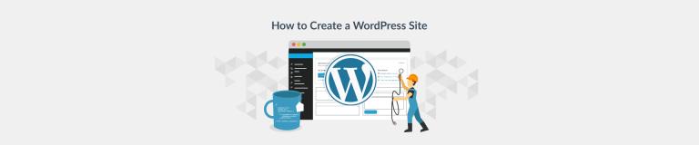 How to Create a WordPress Website - Plesk