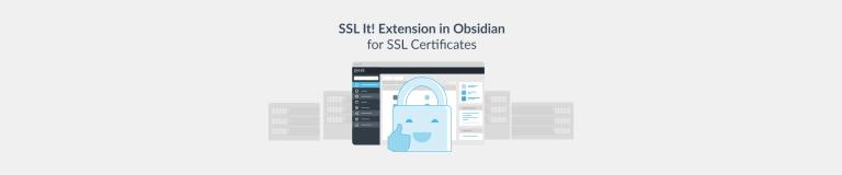 SSL It! Extension in Plesk Obsidian