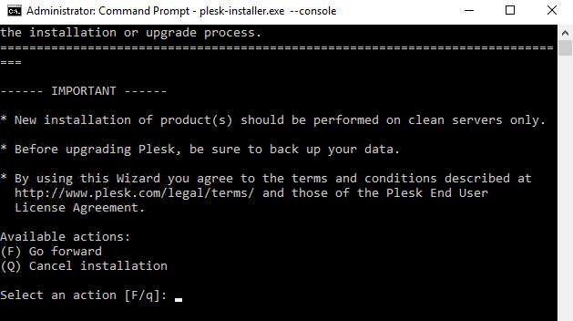 Install Plesk On Windows - 1