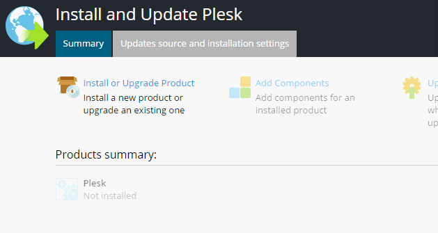 Install Plesk On Windows - GUI - 2