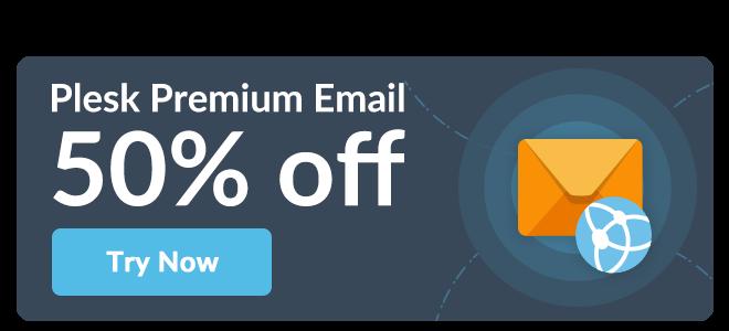 Plesk Premium Email