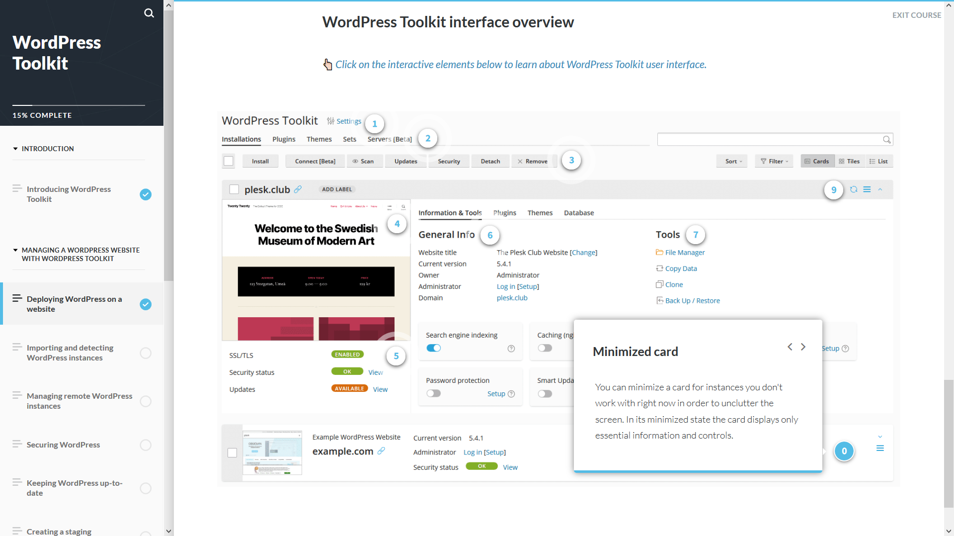 The WordPress Toolkit Course - Tech Skills for a Changing World: The 5 Most Popular Plesk University Courses - Plesk