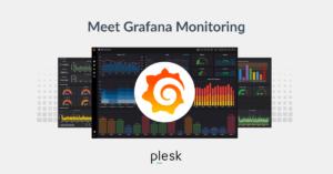 Grafana monitoring blog Plesk