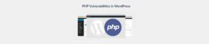 WordPress PHP vulnerabilities Plesk