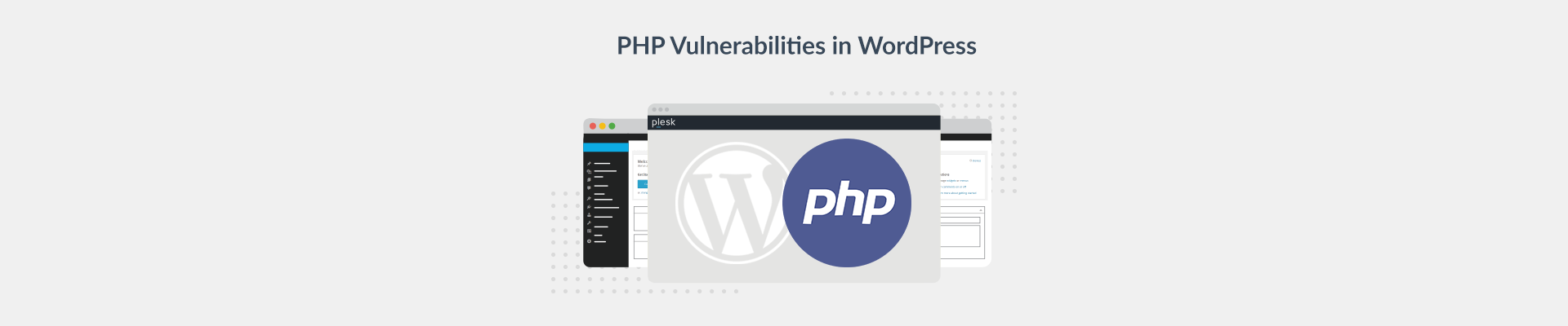 WordPress PHP vulnerabilities Plesk