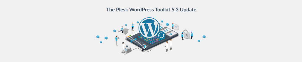 WordPress Toolkit update 5.3 blog Plesk Header
