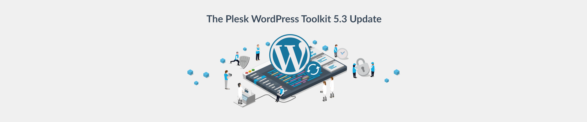 WordPress Toolkit update 5.3 blog Plesk Header