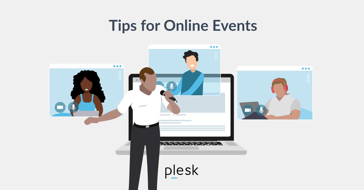 Online event partners Plesk SM