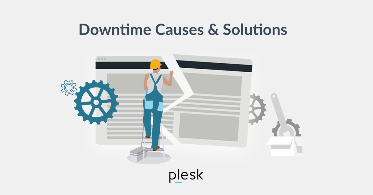 Website Downtime Plesk blog