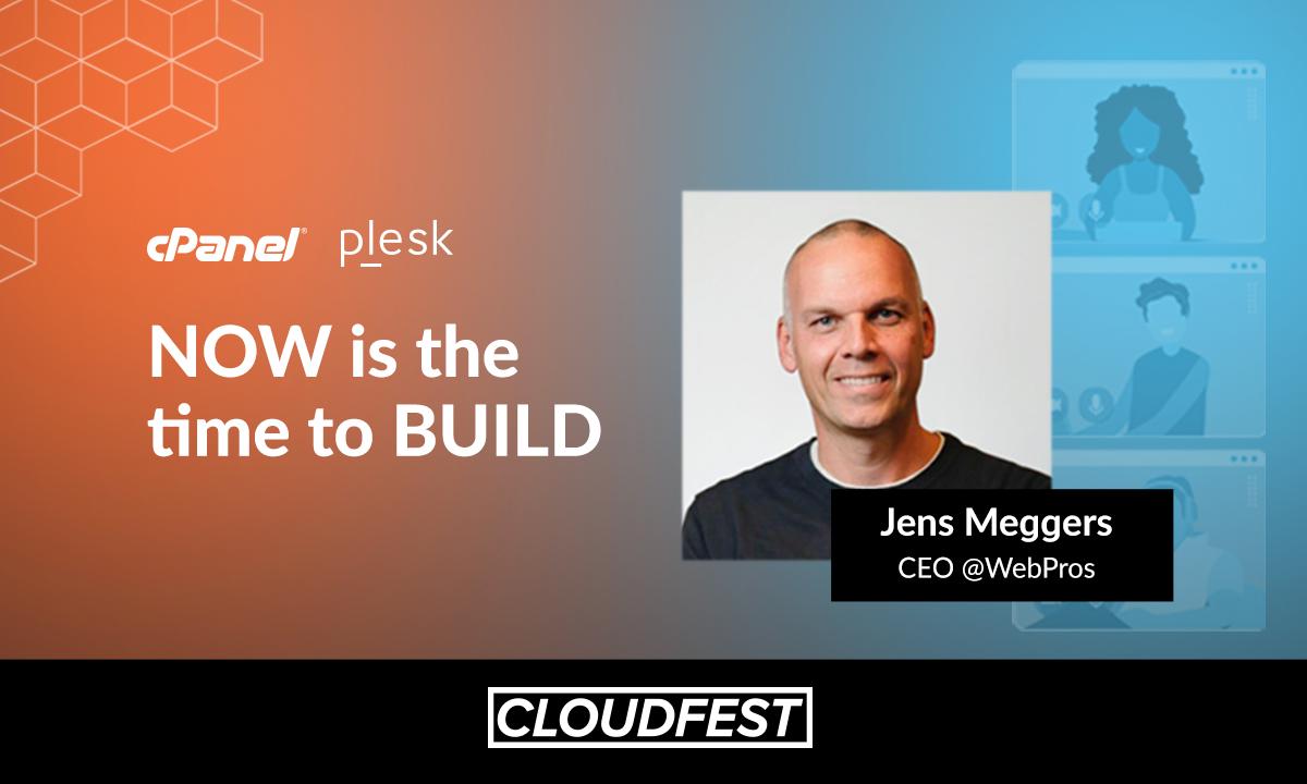 Jens Meggers speech CloudFest Plesk