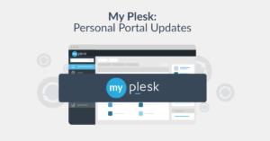 My Plesk portal update blog
