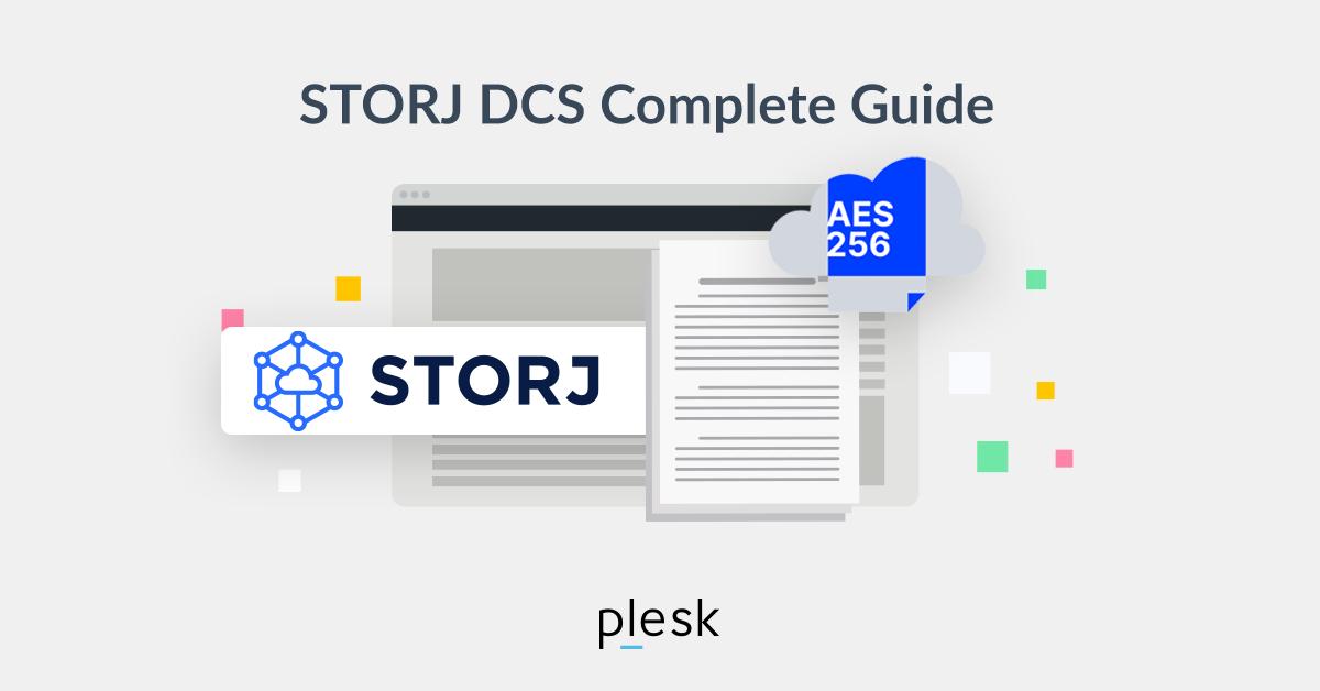 Storj DCS s3 compatible guide Plesk
