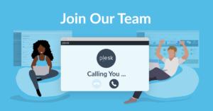 Plesk job careers team post