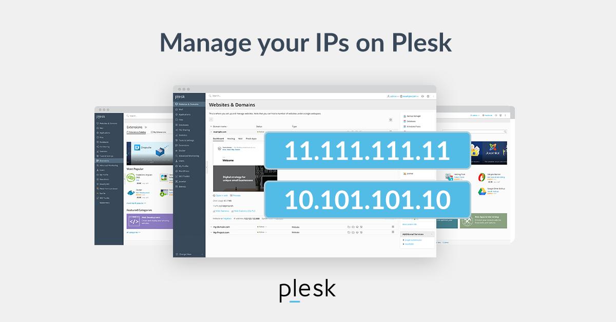 Managing Its on Plesk blog