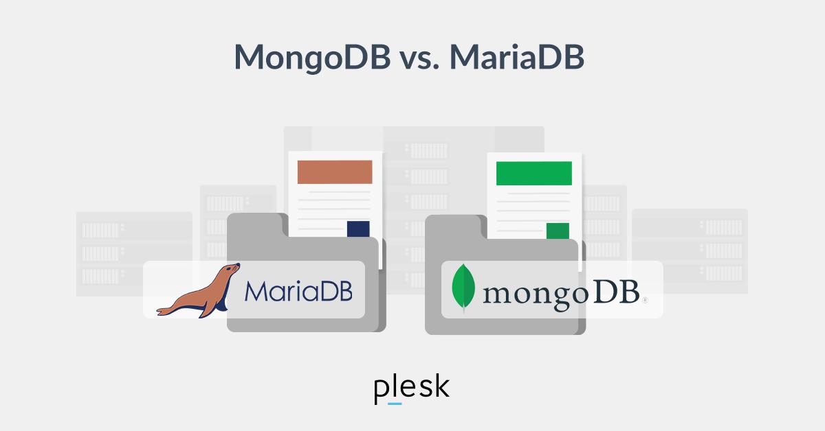 MongoDB vs Maria DB Plesk blog