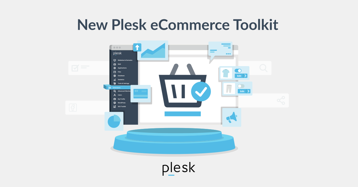 New Plesk eCommerce Toolkit - Just click and start selling - Plesk SM