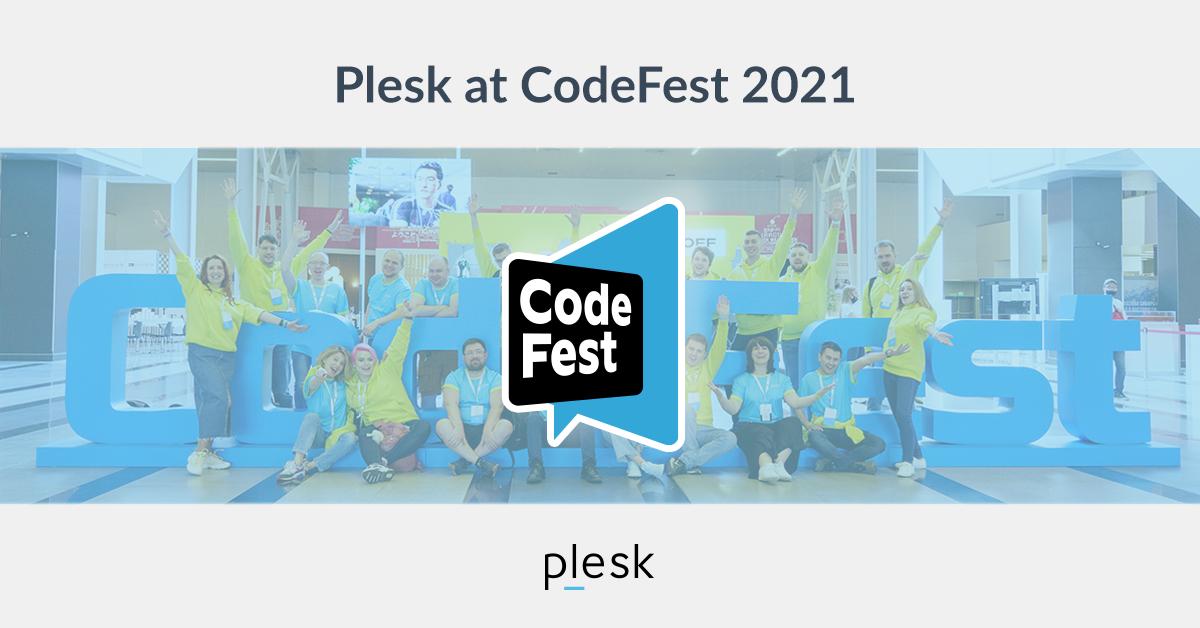 CodeFest 2021 Plesk blog