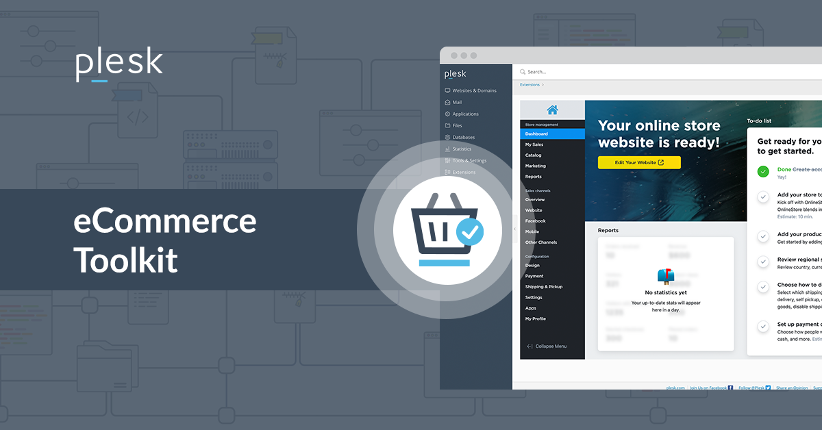 Plesk eCommerce Toolkit Extension