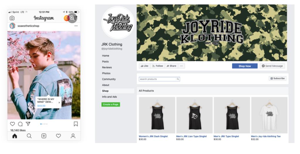 Plesk eCommerce Toolkit social media stores Ecwid