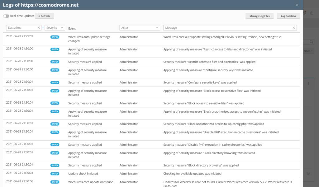 Plesk WordPress Toolkit blog