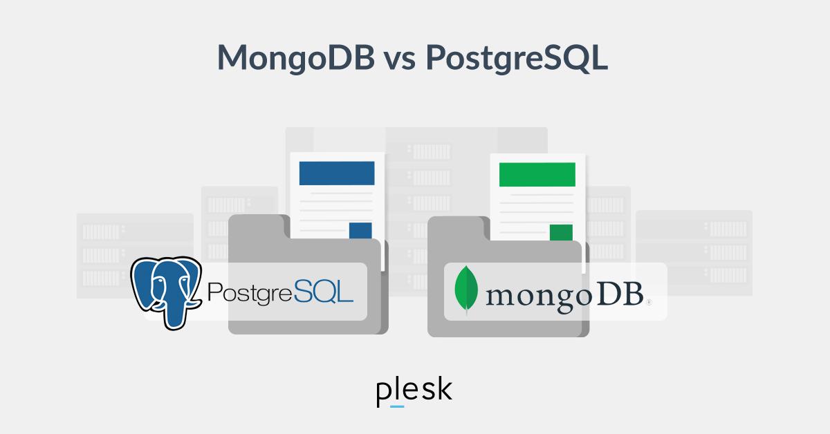 MongoDB vs PostgreSQL Plesk blog