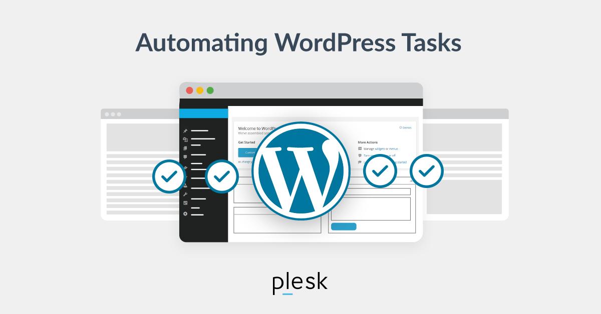 WordPress Automating Plesk blog
