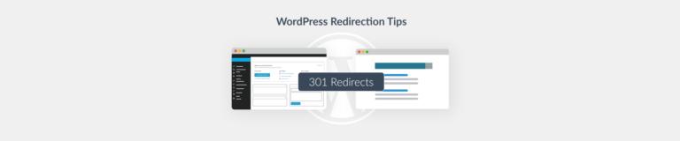 WordPress redirection Plesk blog
