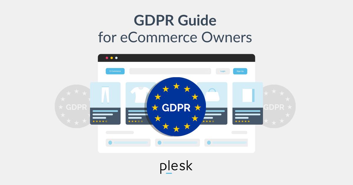 GDPR eCommerce Plesk blog